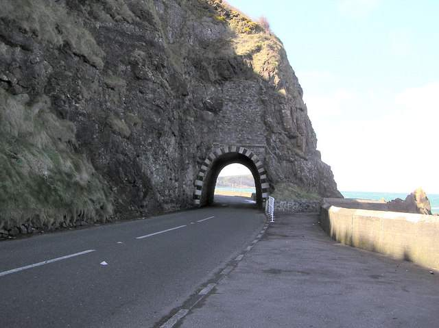 The A2 Coast road Northern Ireland
