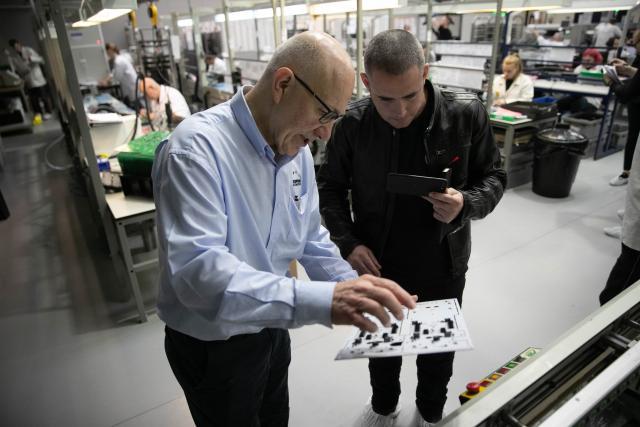 Datatool factory visit