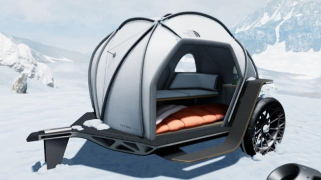 BMW The North Face pod