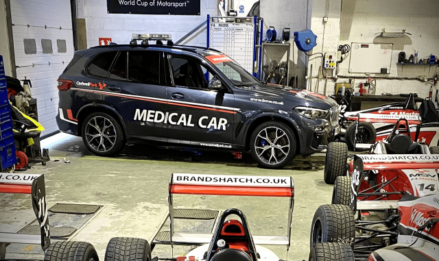 BMW X5 Cadwell Park Medical Car