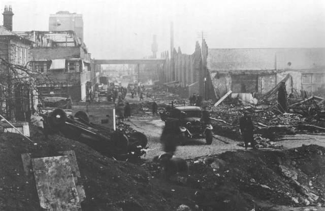 BSA factory bombed
