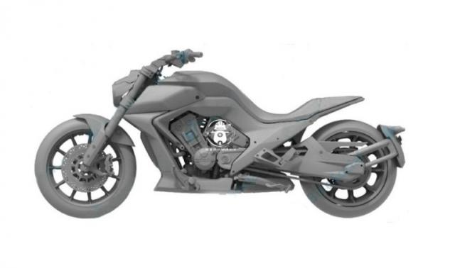 Benda BD700 crusier motorcycle