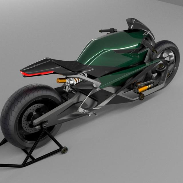 Is This What A Bentley Motorcycle Would Look Like?