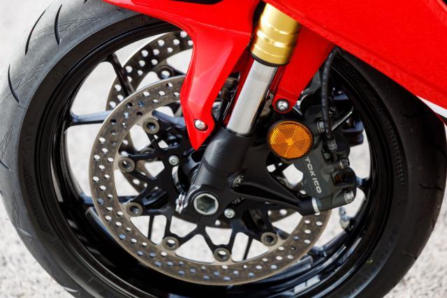 Honda Firebade 2017 front brakes