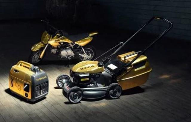 Honda Australia build 'gold' Fireblade