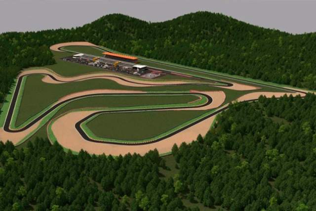 Circuit Morata CGI view of the track