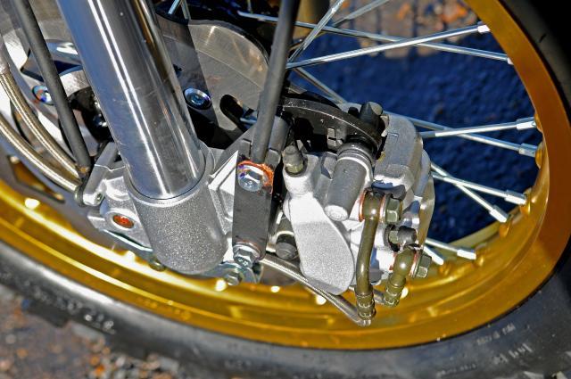 Bullit Hero 125 brakes