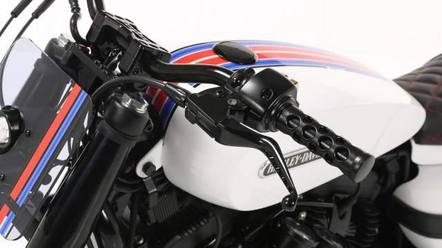 Harley Davidson Custom Sportster Lord Drake Kustoms top front