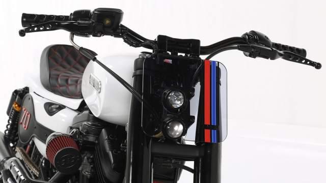 Harley Davidson Custom Sportster front Lord Drake Kustoms