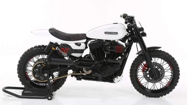 Harley Davidson Custom Sportster Lord Drake Kustoms