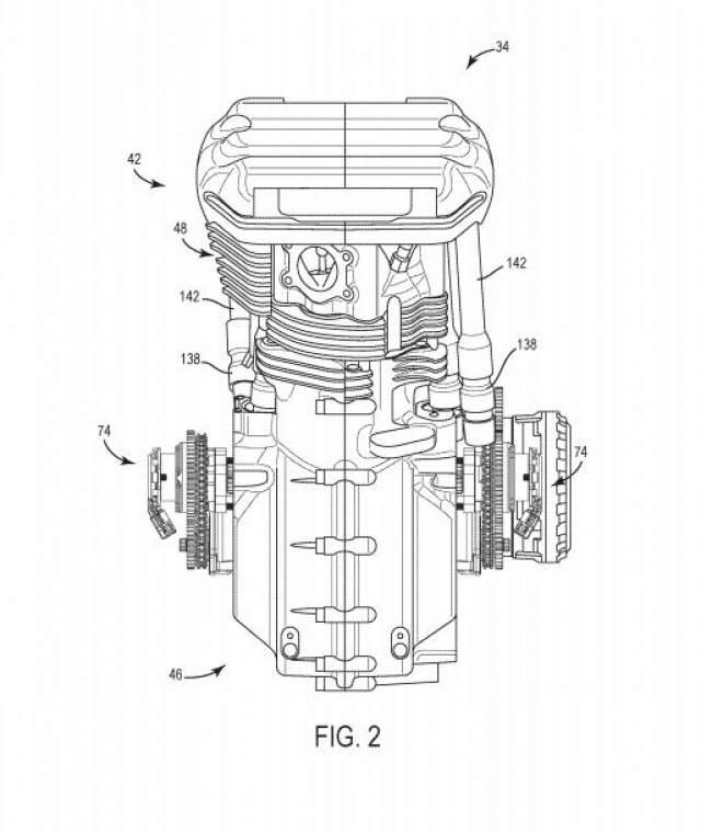 Harley-Davidson Sportster VVT patents revealed