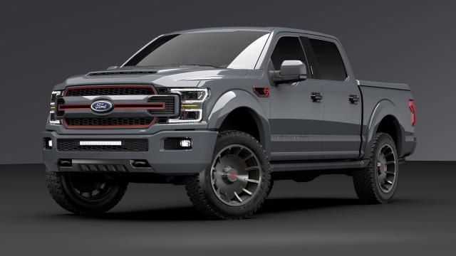 Harley-Davidson-Ford-F1250-Truck