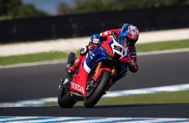 Leon Haslam - Honda CBR1000RR-R