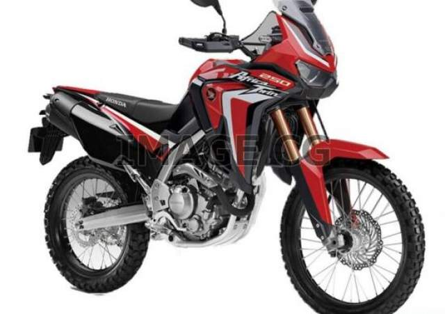Honda Africa Twin 250cc