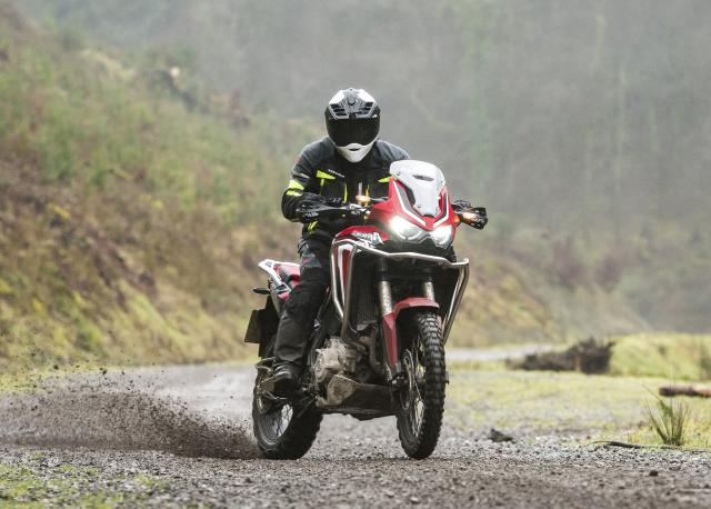 Honda CRF1100L Africa Twin Adventure Sports Visordown Review