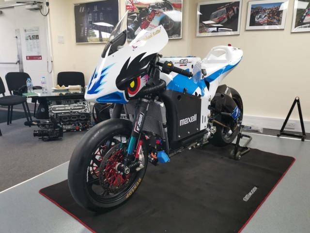 Mugen Shinden Hachi Electric Motorcycle