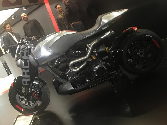 Keanu Reeves' Arch Motorcycles brand unveils new models at EICMA