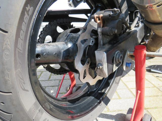 Galfer rear disk on sv650s