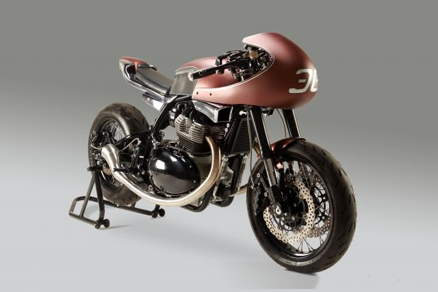 Minimalist Custom Royal Enfield Continental GT 650 | Krom Works