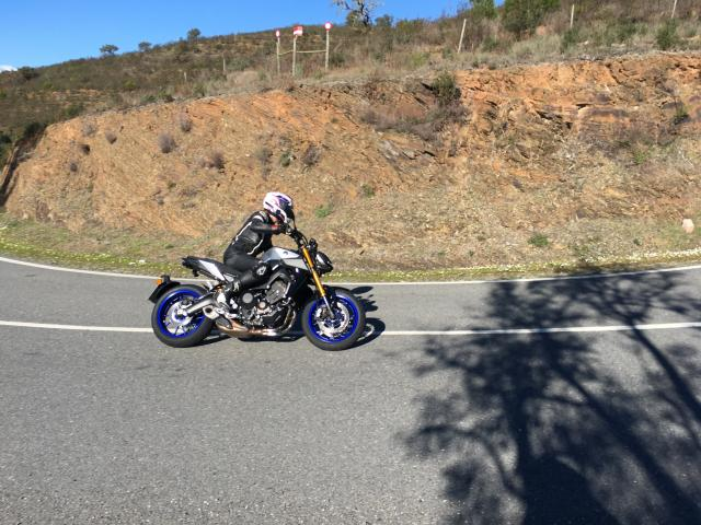 Yamaha MT-09 SP first thoughts