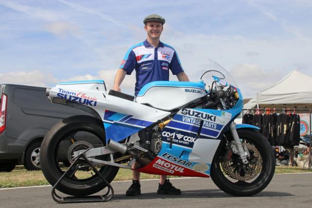 Danny Webb - Classic Isle of Man TT - Suzuki RG500