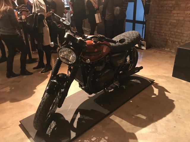 Triumph creates one-off Bonneville for Distinguished Gentleman's Ride