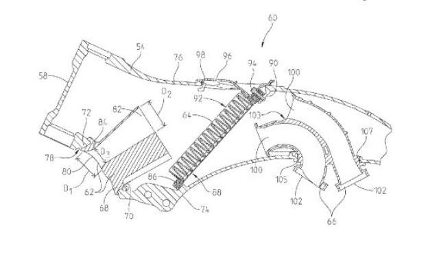 Indian Motorcycle liquid cooled tourer patents