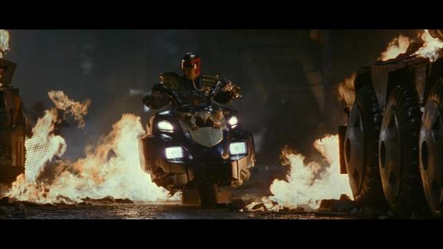 Judge Dredd Lawmaster motorcycle