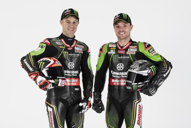 Alex Lowes, Jonathan Rea - Kawasaki Racing Team