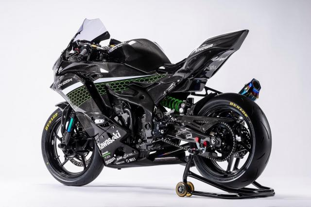 Kawasaki ZX25-R Race edition