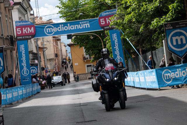 Yamaha NIKEN GT takes on the Giro D'Italia