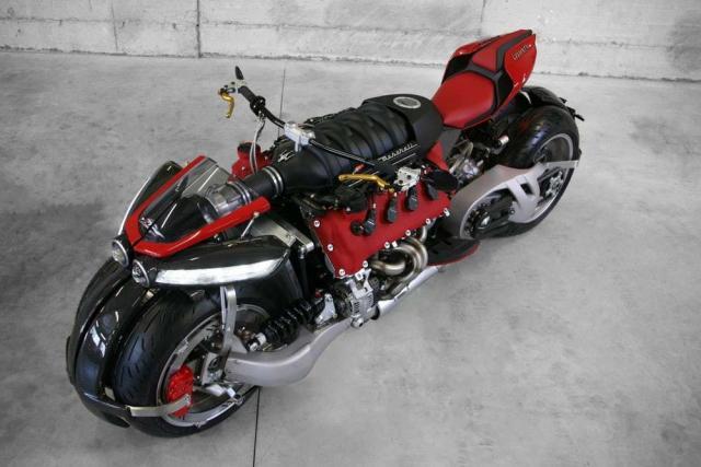 Lazereth motorcycle