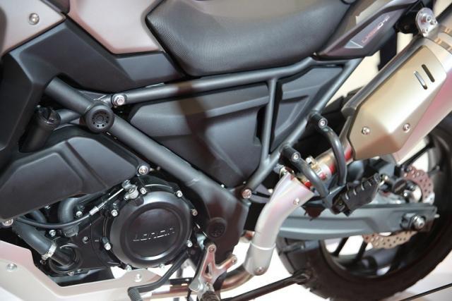 Loncin reveals 650cc adventure bike