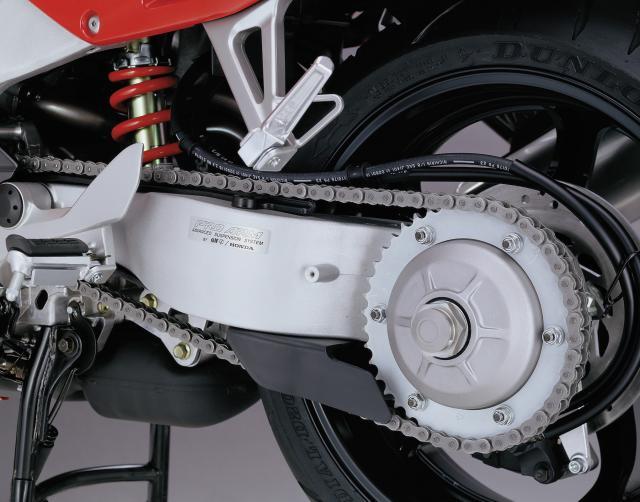 2000 Honda VFR800 swingarm
