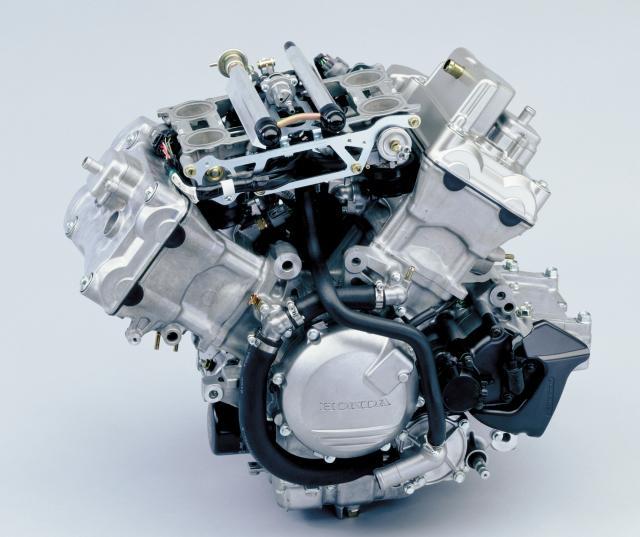 2000 Honda VFR800 engine