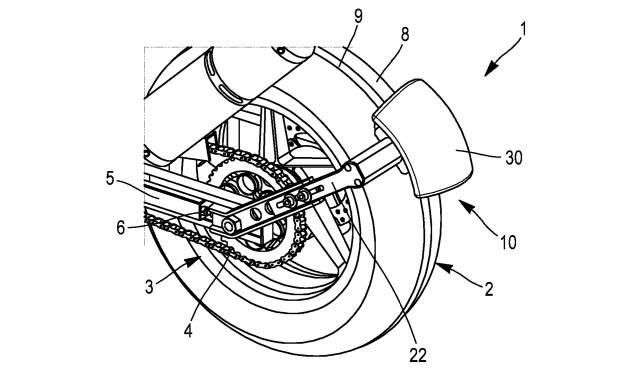 Michelin reversing device patent