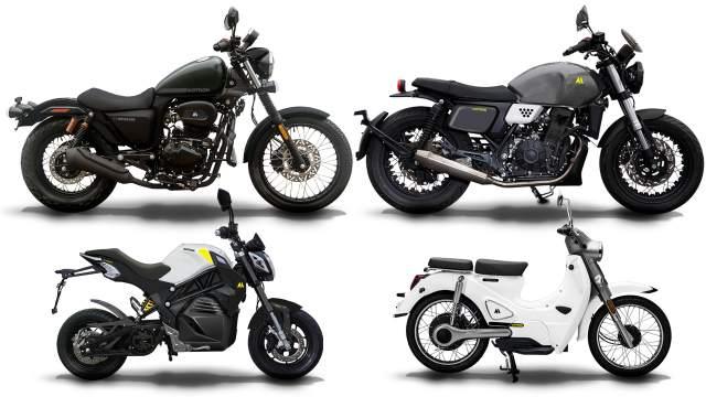 Motron Motorcycles Revolver Warrior Vizion Cubertino