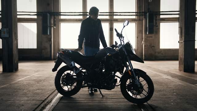 Max Deeps Motron Motorcycles X-Nord 125
