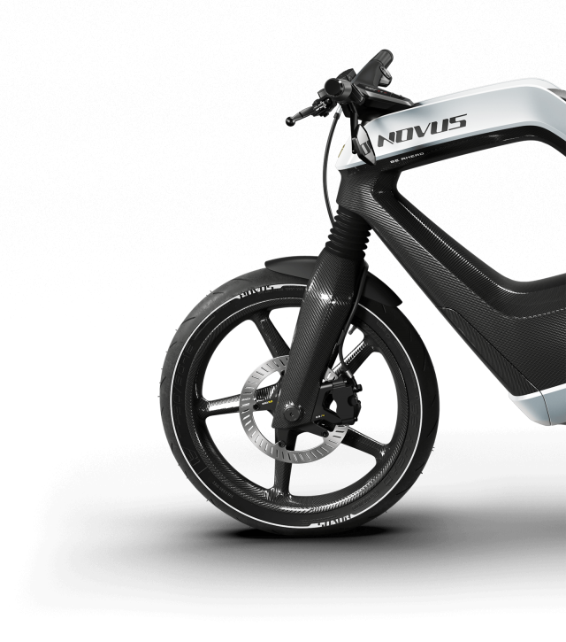 Novus electric motorcycles
