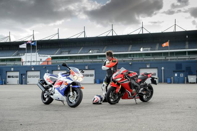 Honda Fireblade review: Old vs New