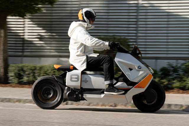 BMW Definition CE 04 electric scooter