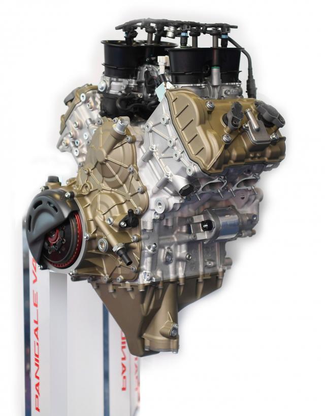 Panigale V4 R engine