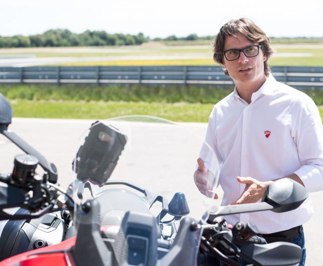 Pierluigi Zampieri Vehicle Innovation Manager at Ducati Motor Holding