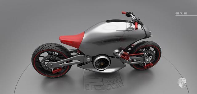 The 'Porsche' motorcycle concept