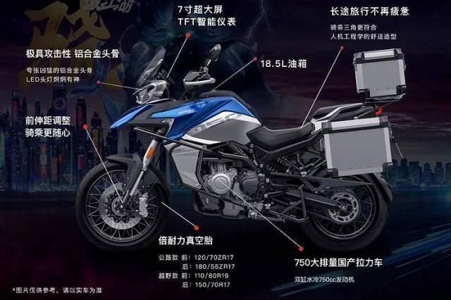 QJ Motors SRT750