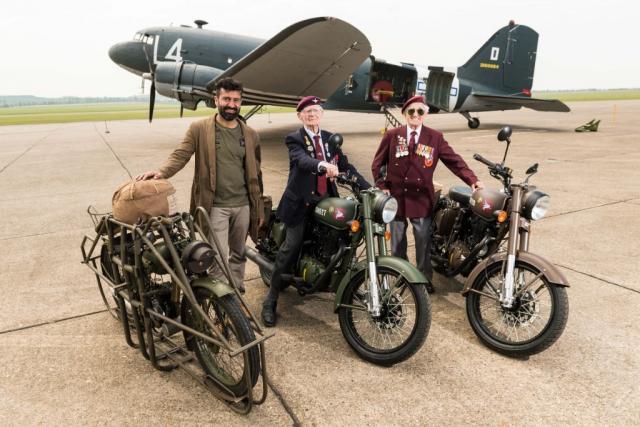 Royal Enfield Flying Flea replica