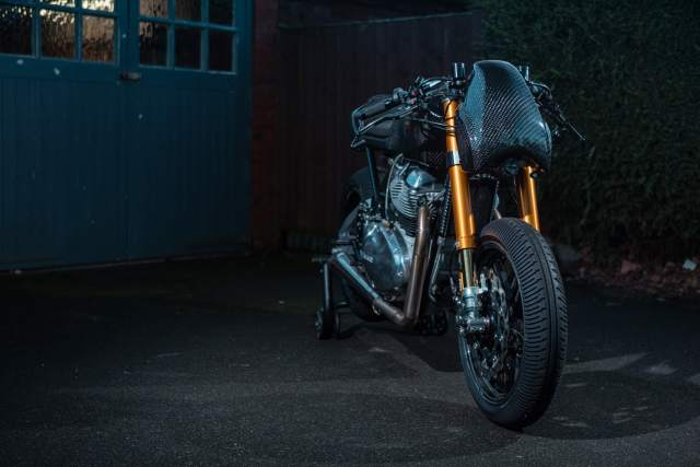 Royal Enfield custom Continental GT 650 front