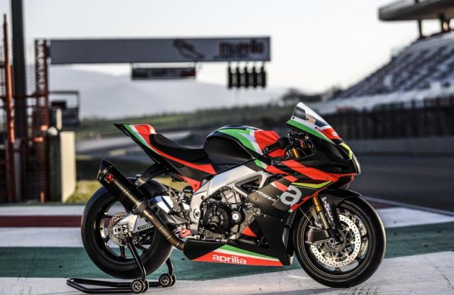 Aprilia RSV4_X Superbike Max Biaggi