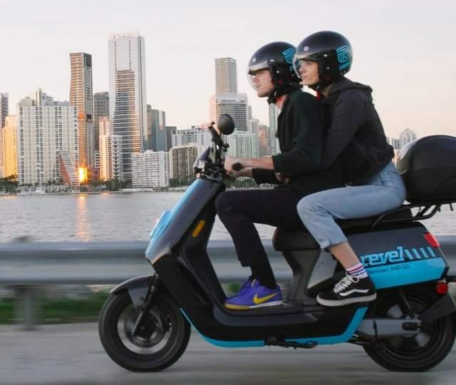 Revel e-scooter