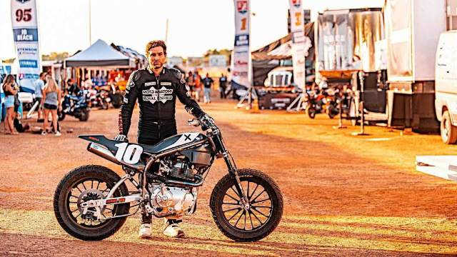 Royal Enfield Flat Track Racer